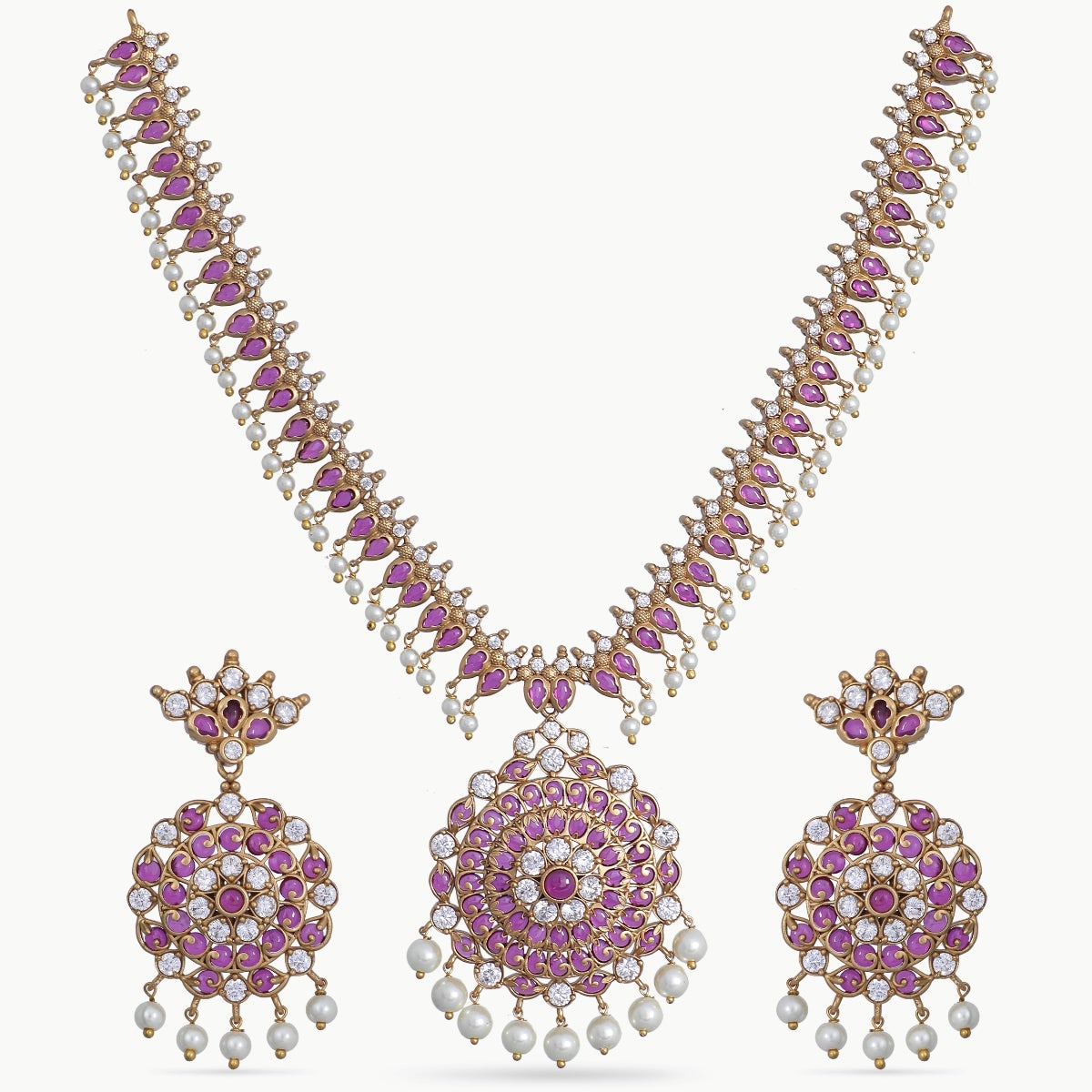 Varni Antique Necklace Set