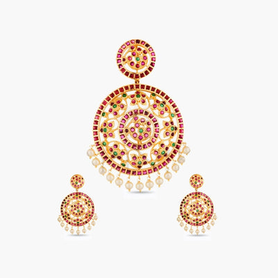 Chandrika Antique Pendant Set