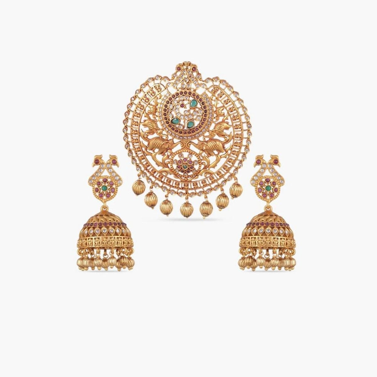 Rati Antique Pendant Set