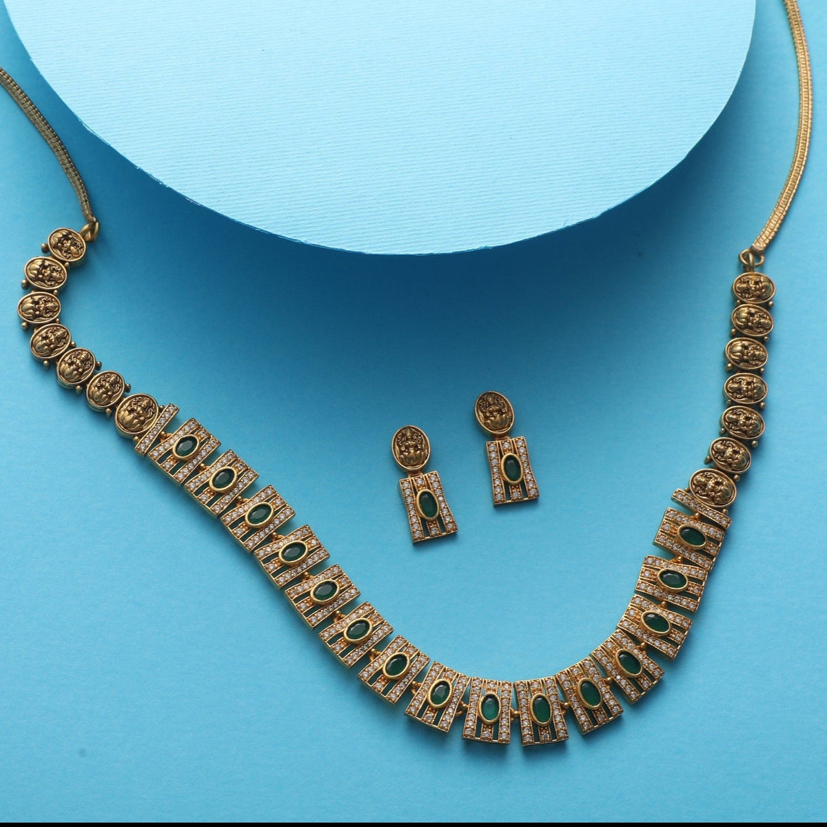 Faina Antique Necklace Set