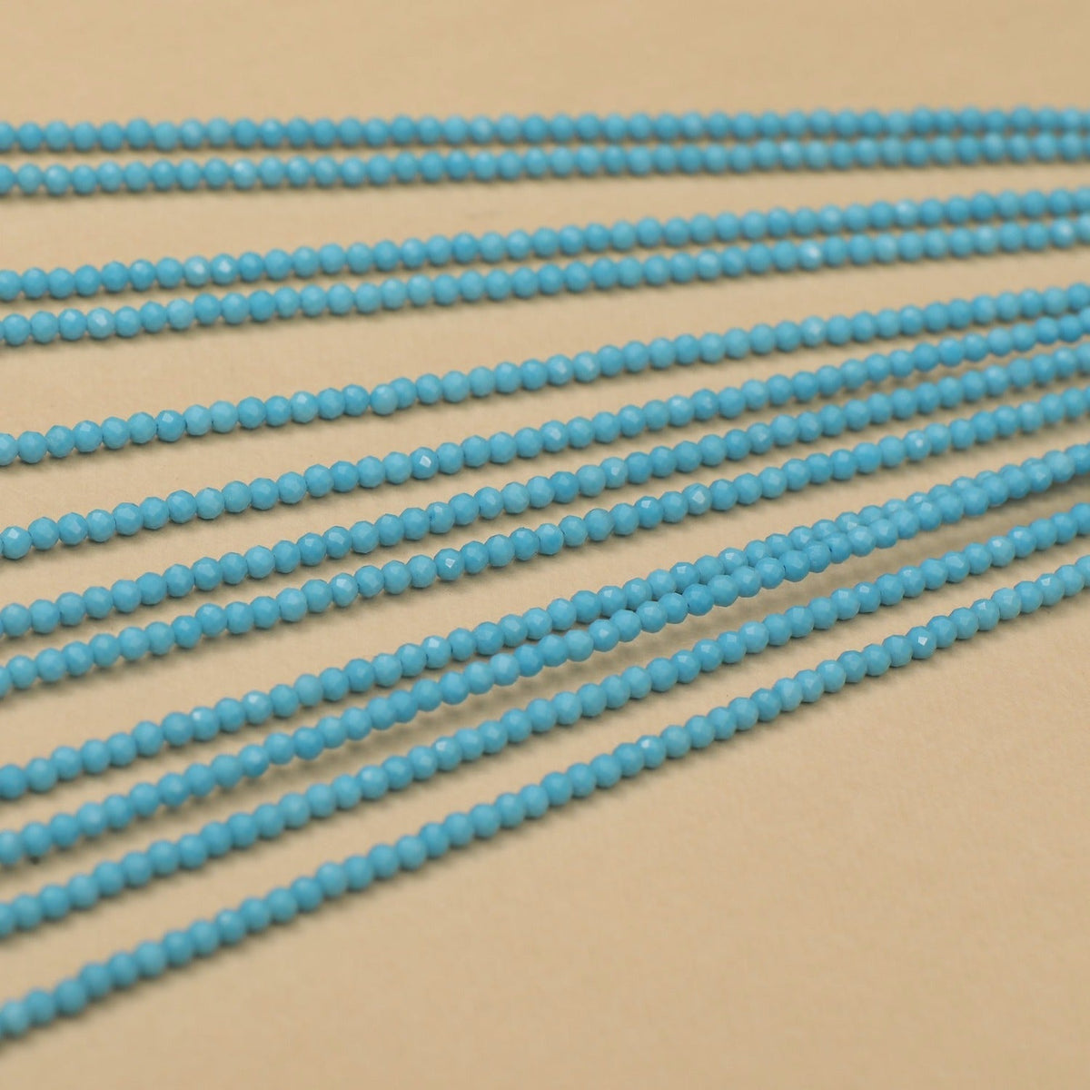 Chinese Turquoise Beads- Sold Per Stand