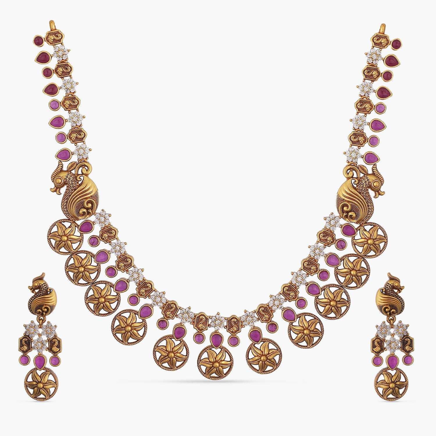 Neeta Antique Necklace Set