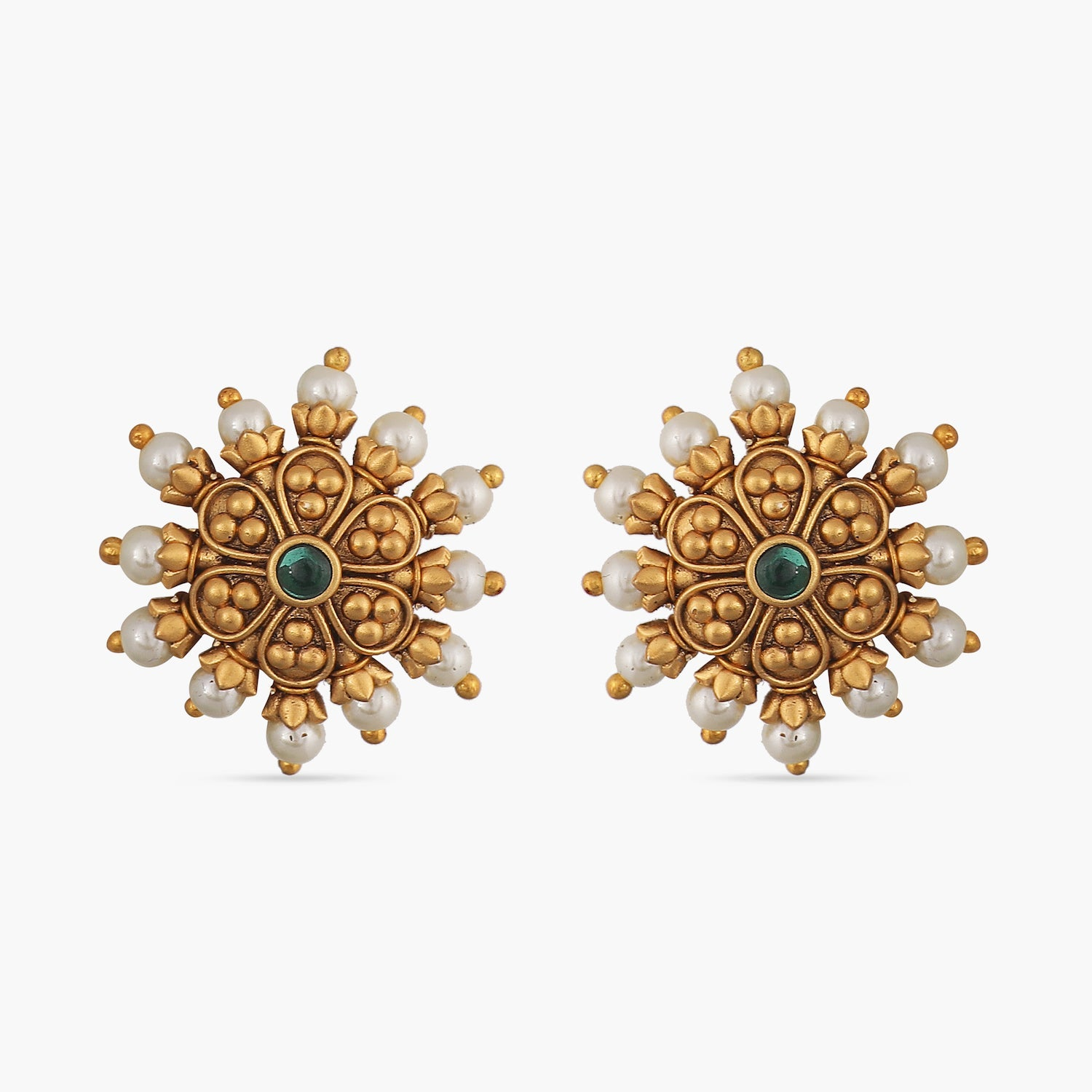 Sofia Pearl Antique Earrings