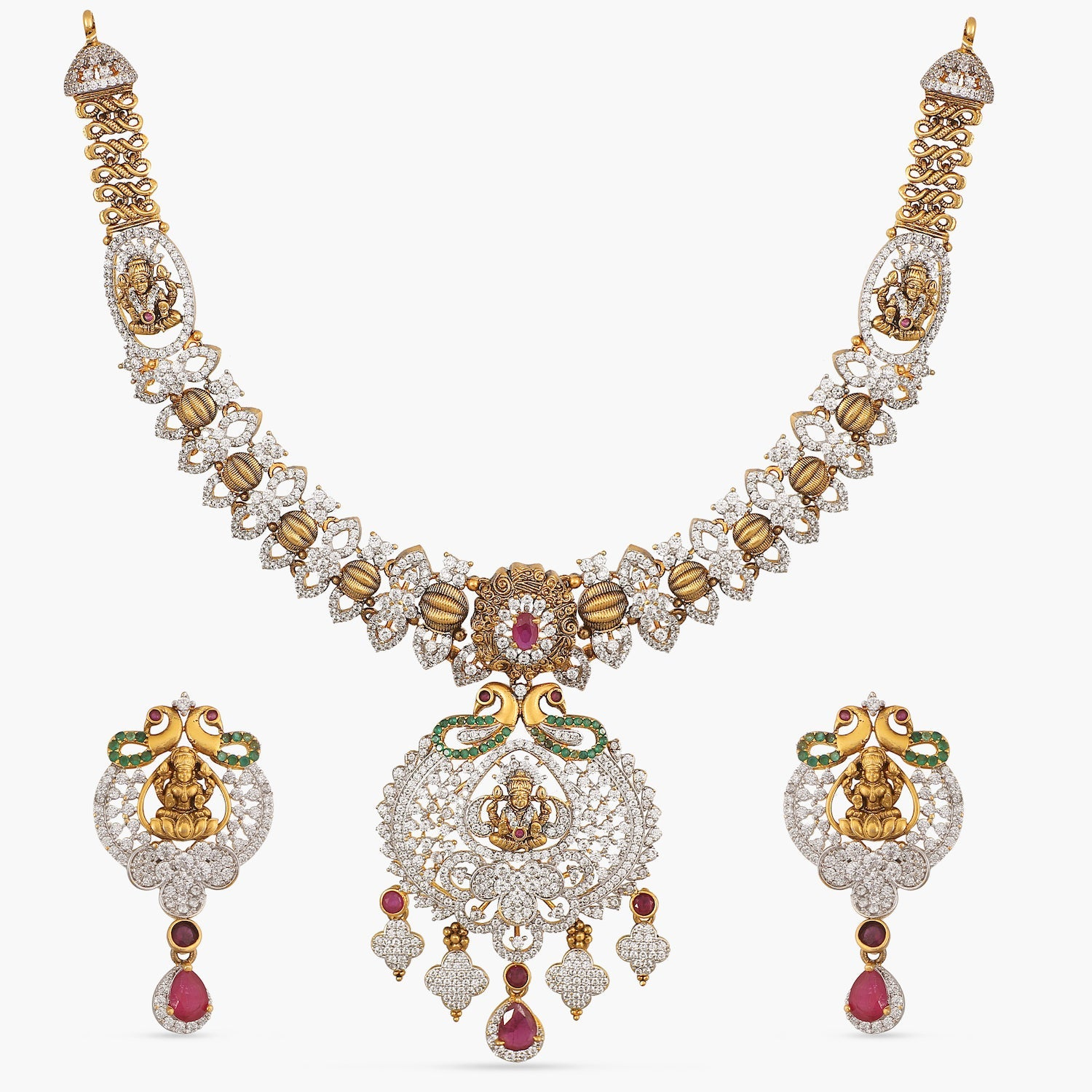 Swara Antique Necklace Set