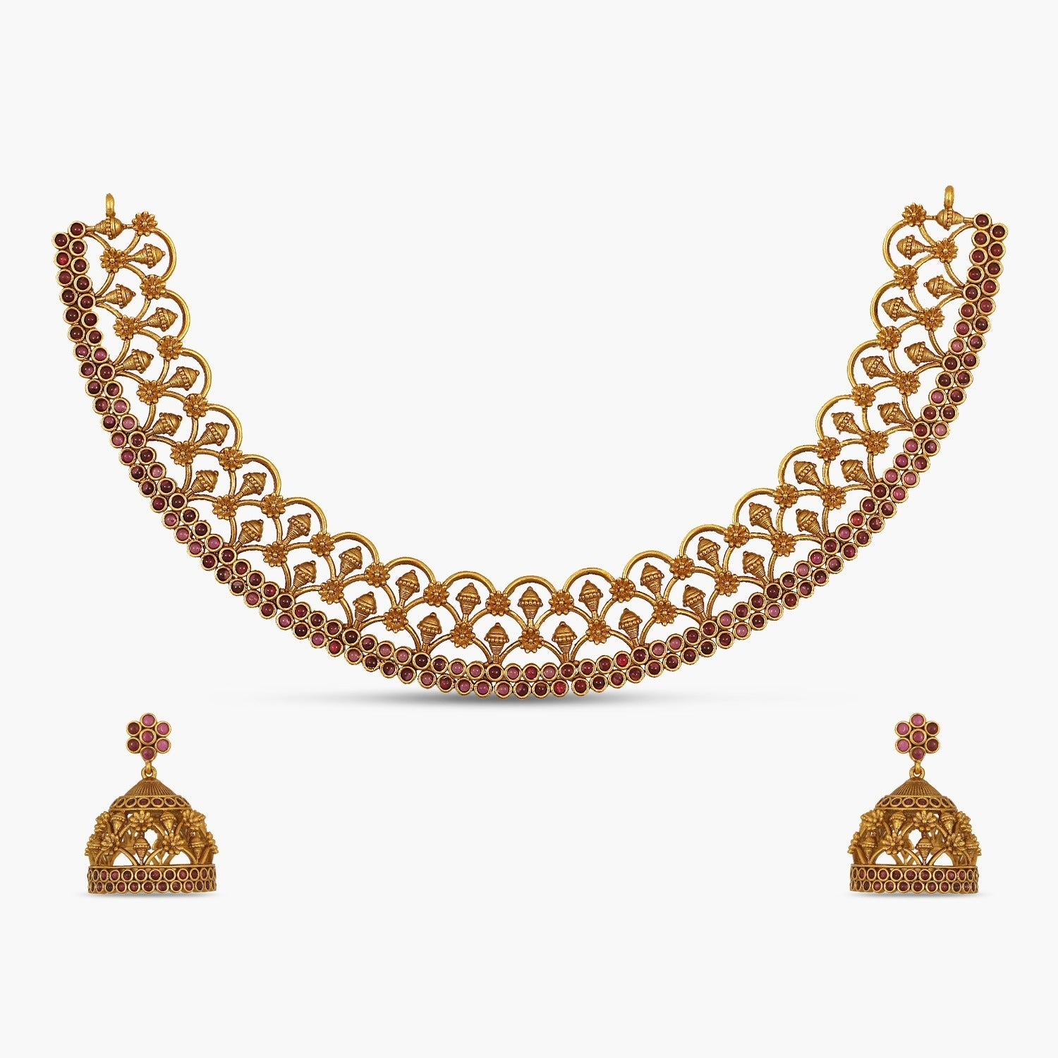 Tanya Antique Necklace Set