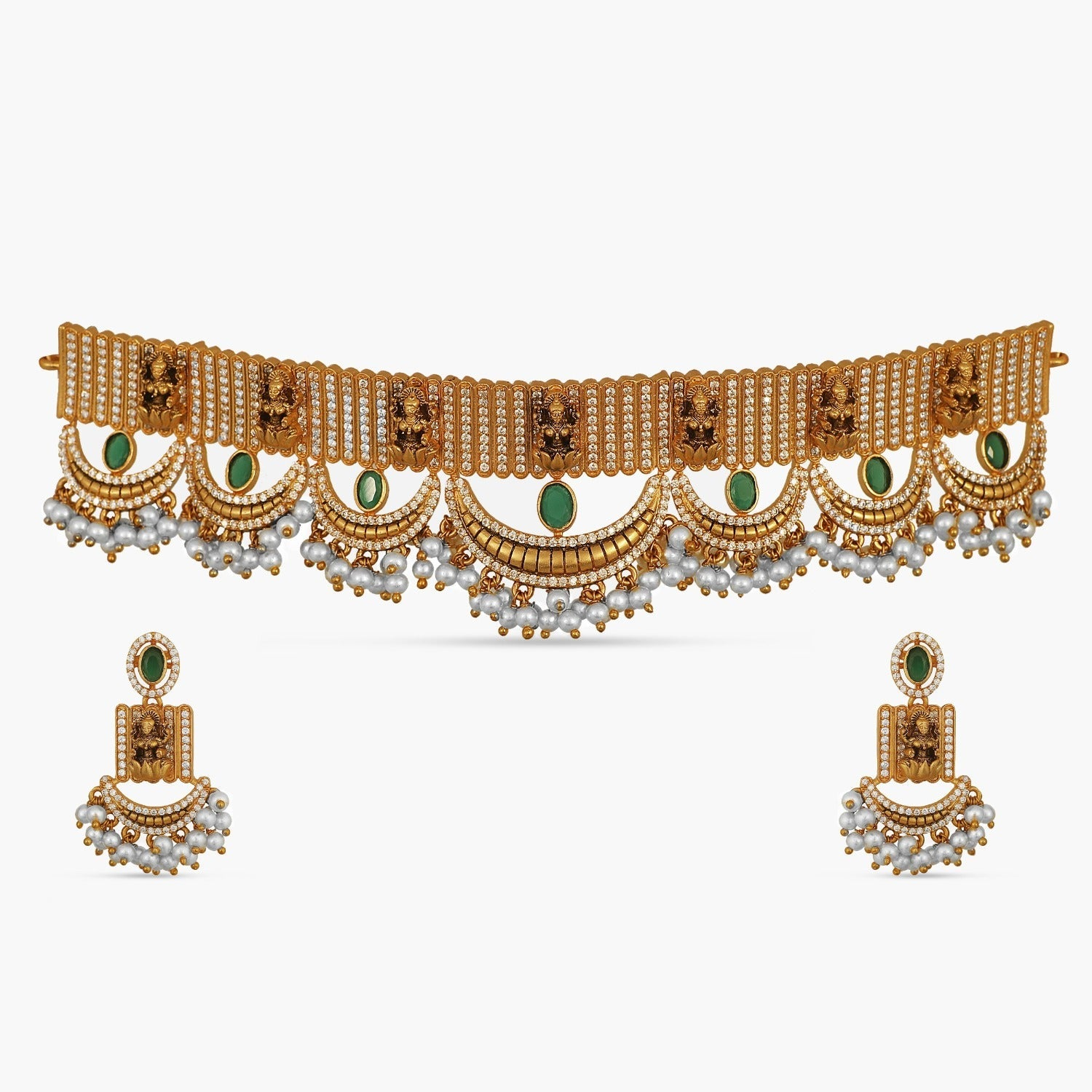 Iksha Antique Choker Set