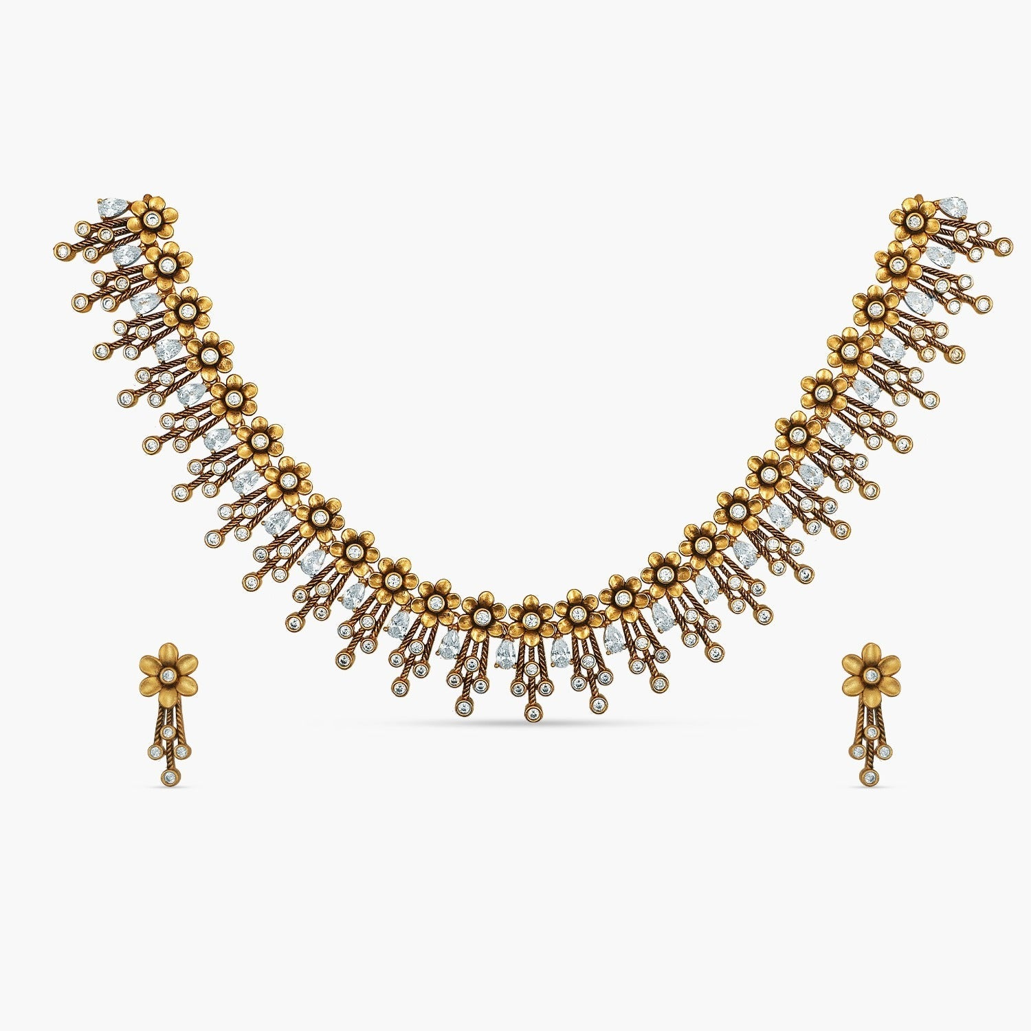 Divija Antique Necklace Set