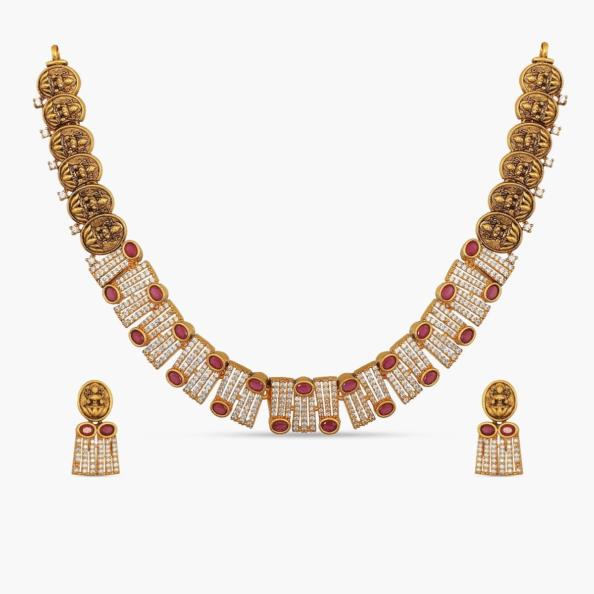 Tamira Antique Necklace Set