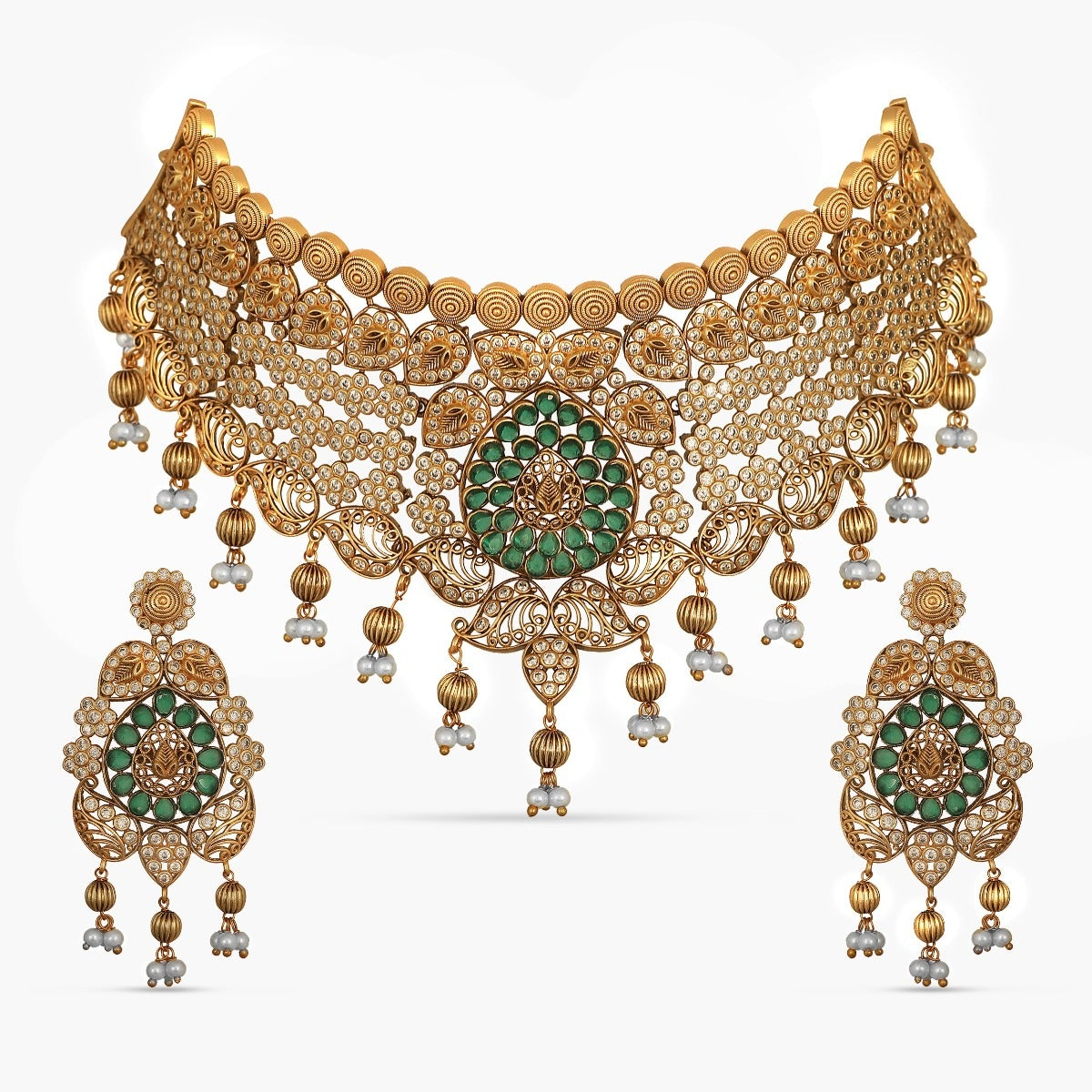 Subhi Antique Choker Set
