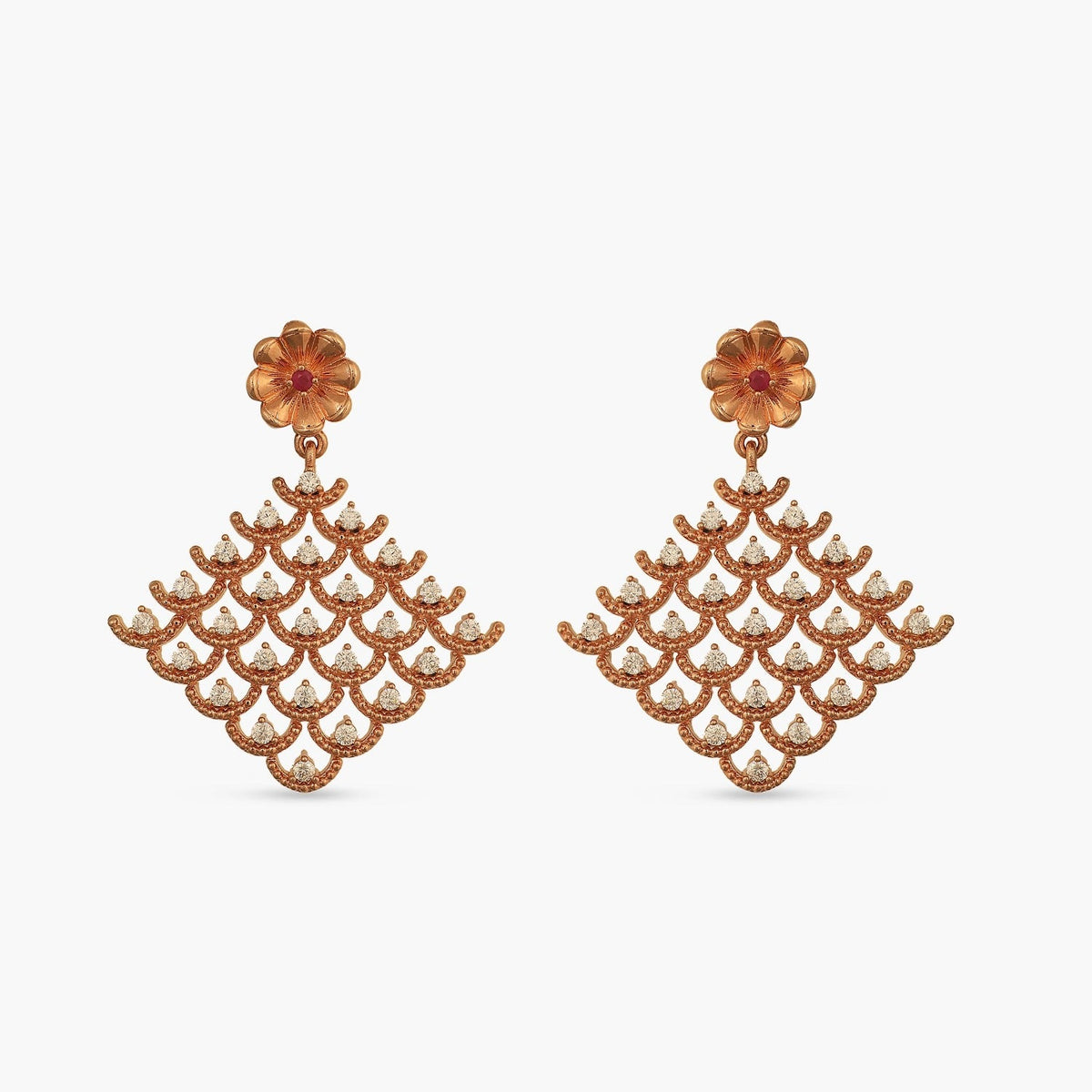 Astra Nakshatra CZ Earrings
