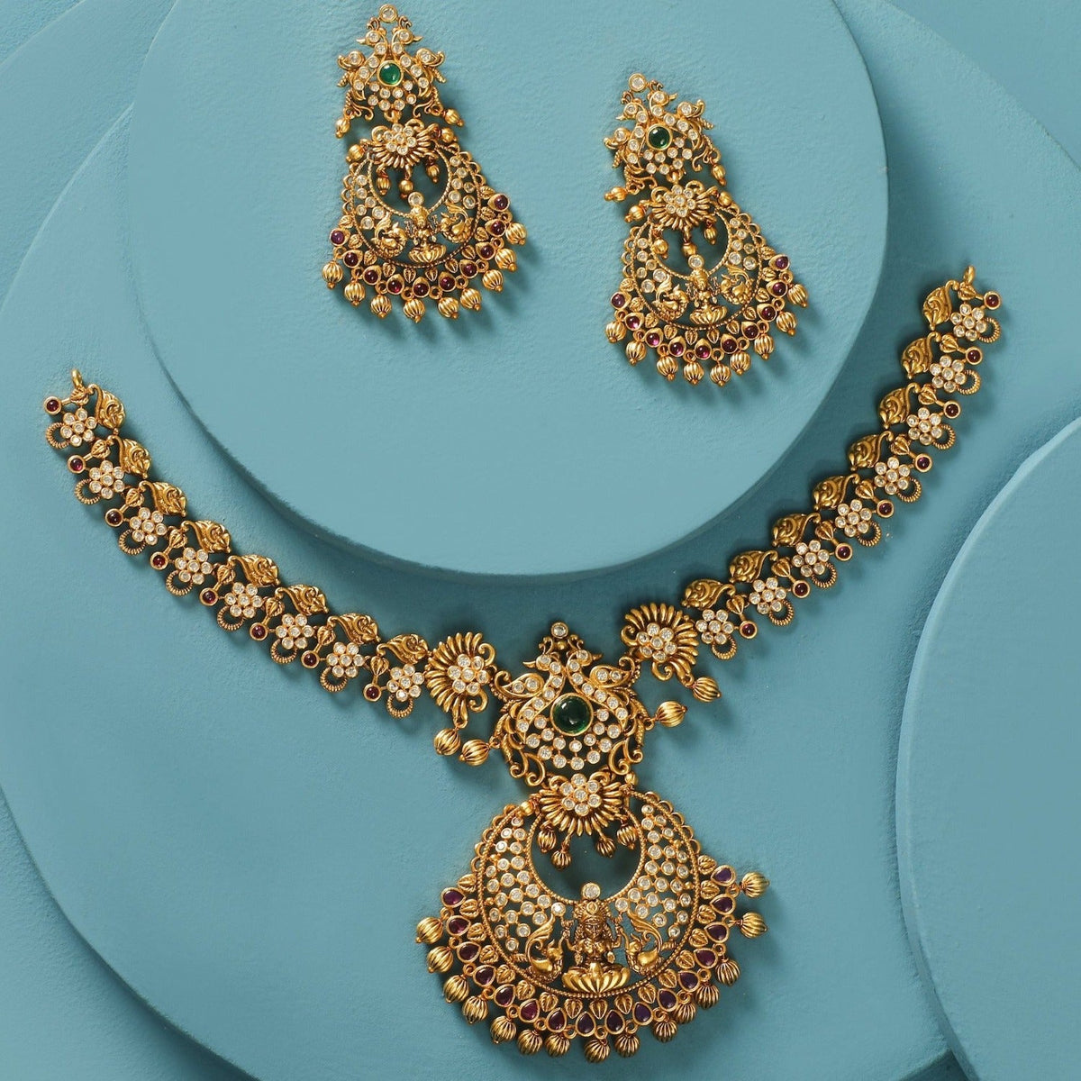 Iditri Antique Necklace Set