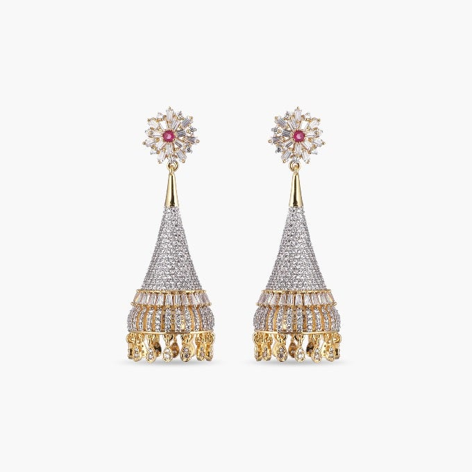 Ancy Nakshatra CZ Earrings