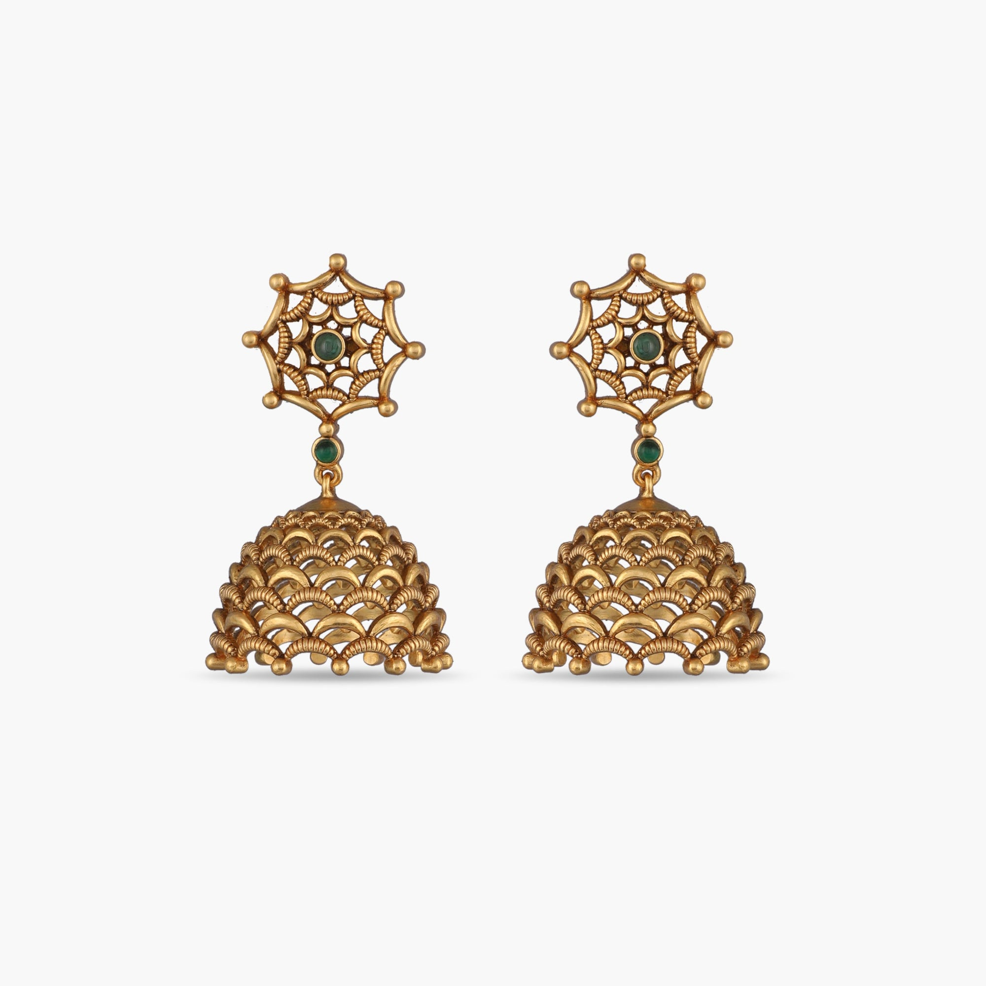 Ipshita Antique Jhumka Earrings