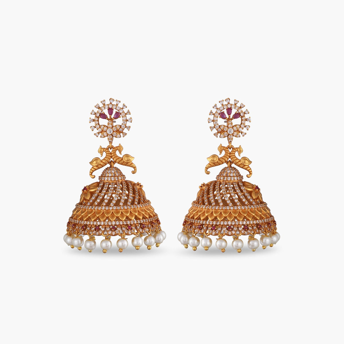 Sumi Antique Jhumka Earrings