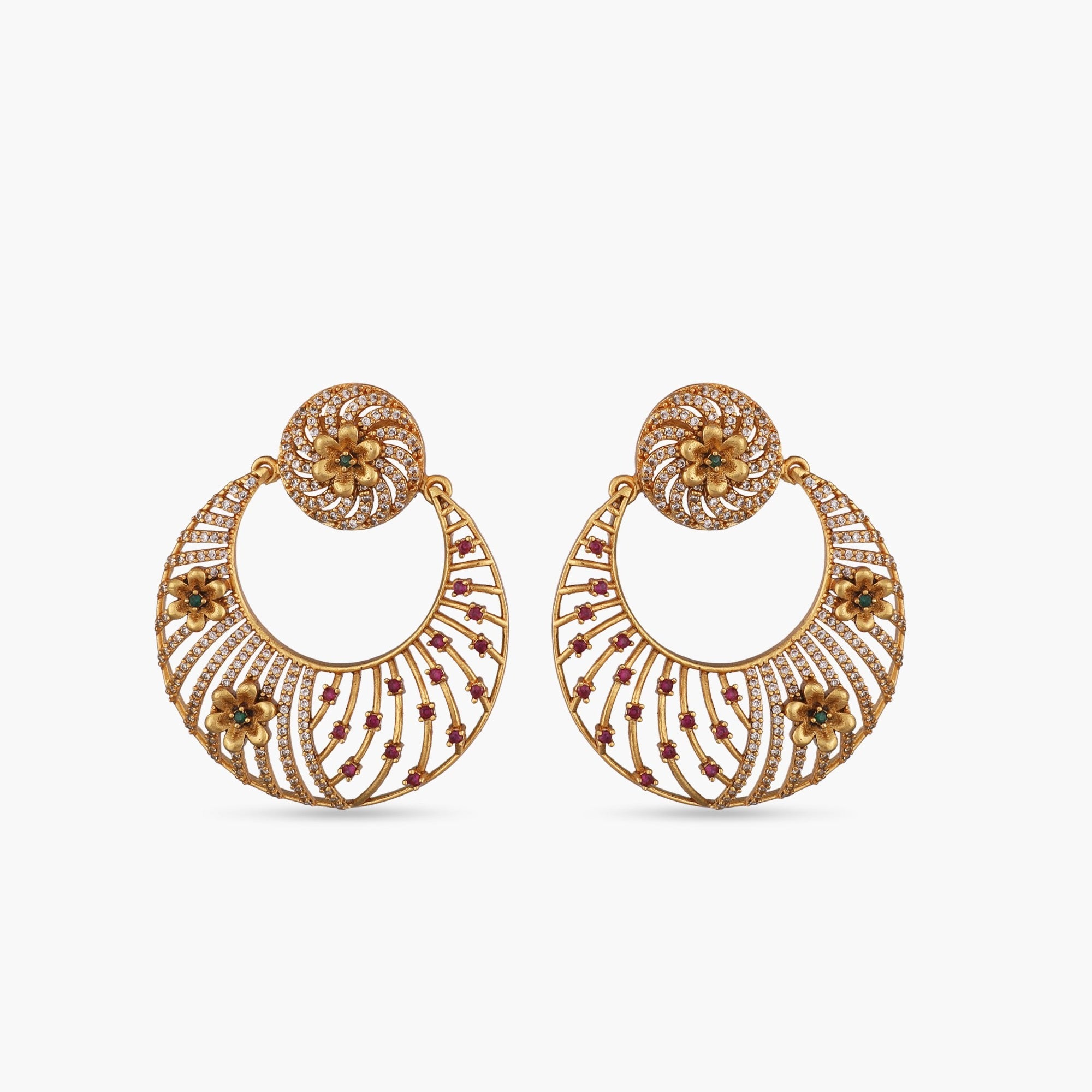 Giniya Nakshatra CZ Earrings