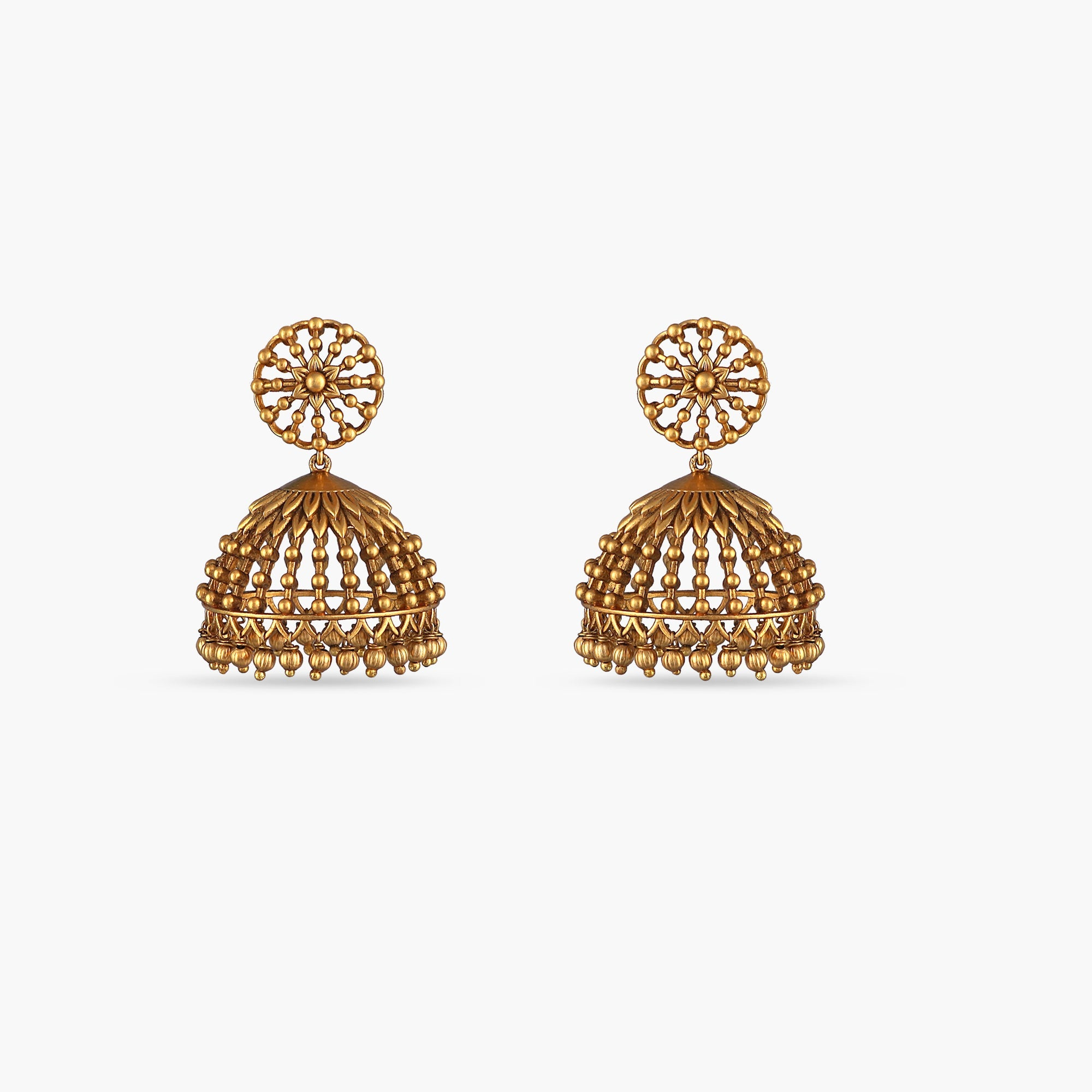 Gagini Antique Jhumka Earrings