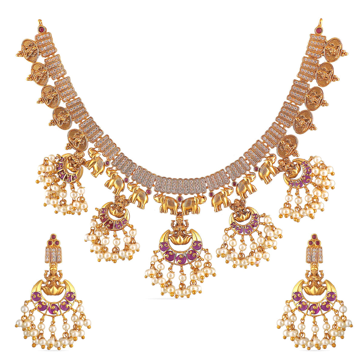 Supra Antique Necklace Set