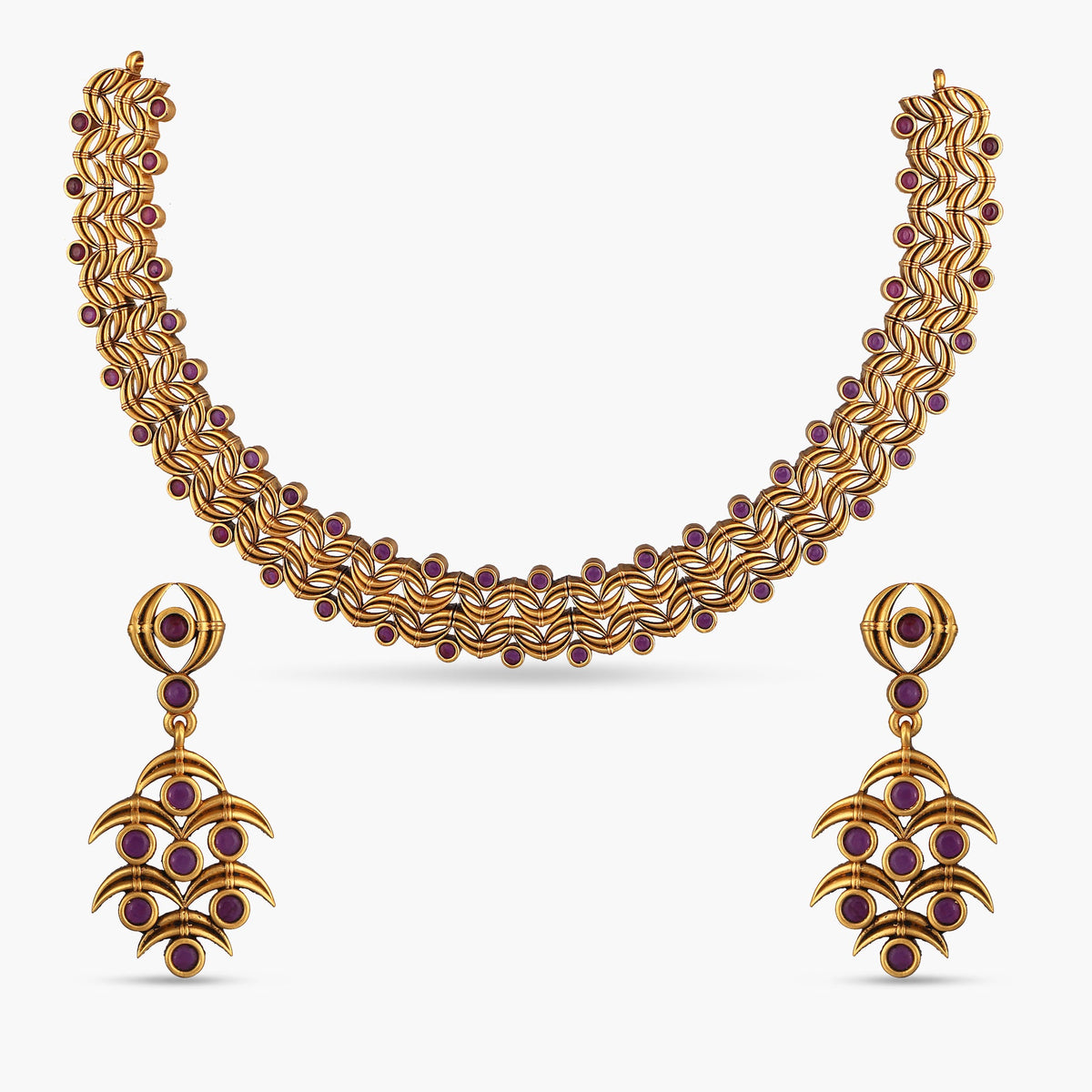 Chitra Antique Necklace Set