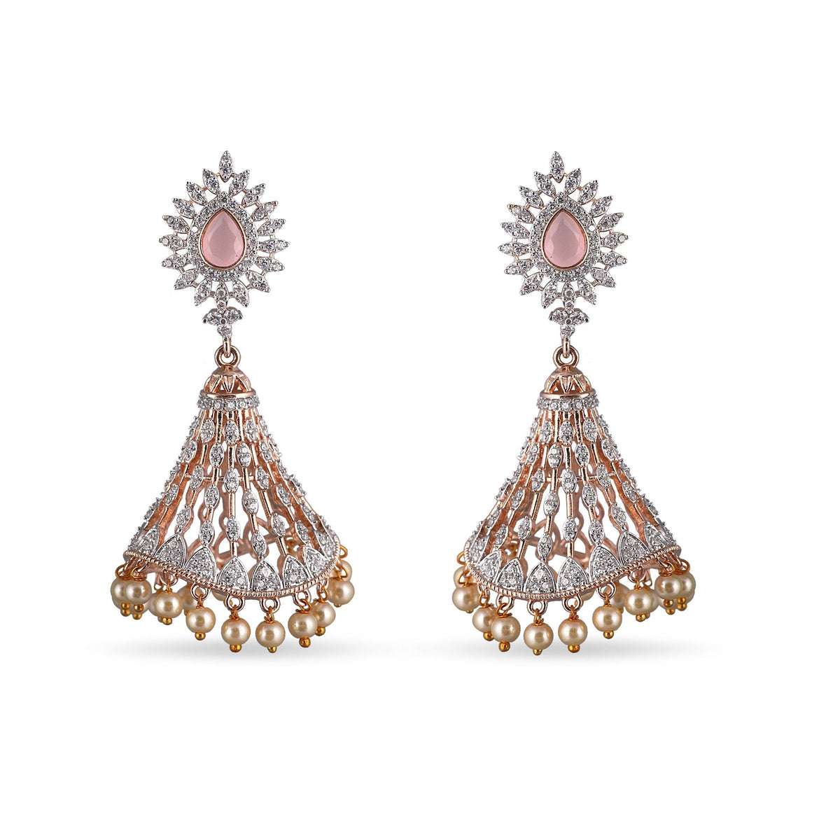 Tara Nakshatra CZ Earrings