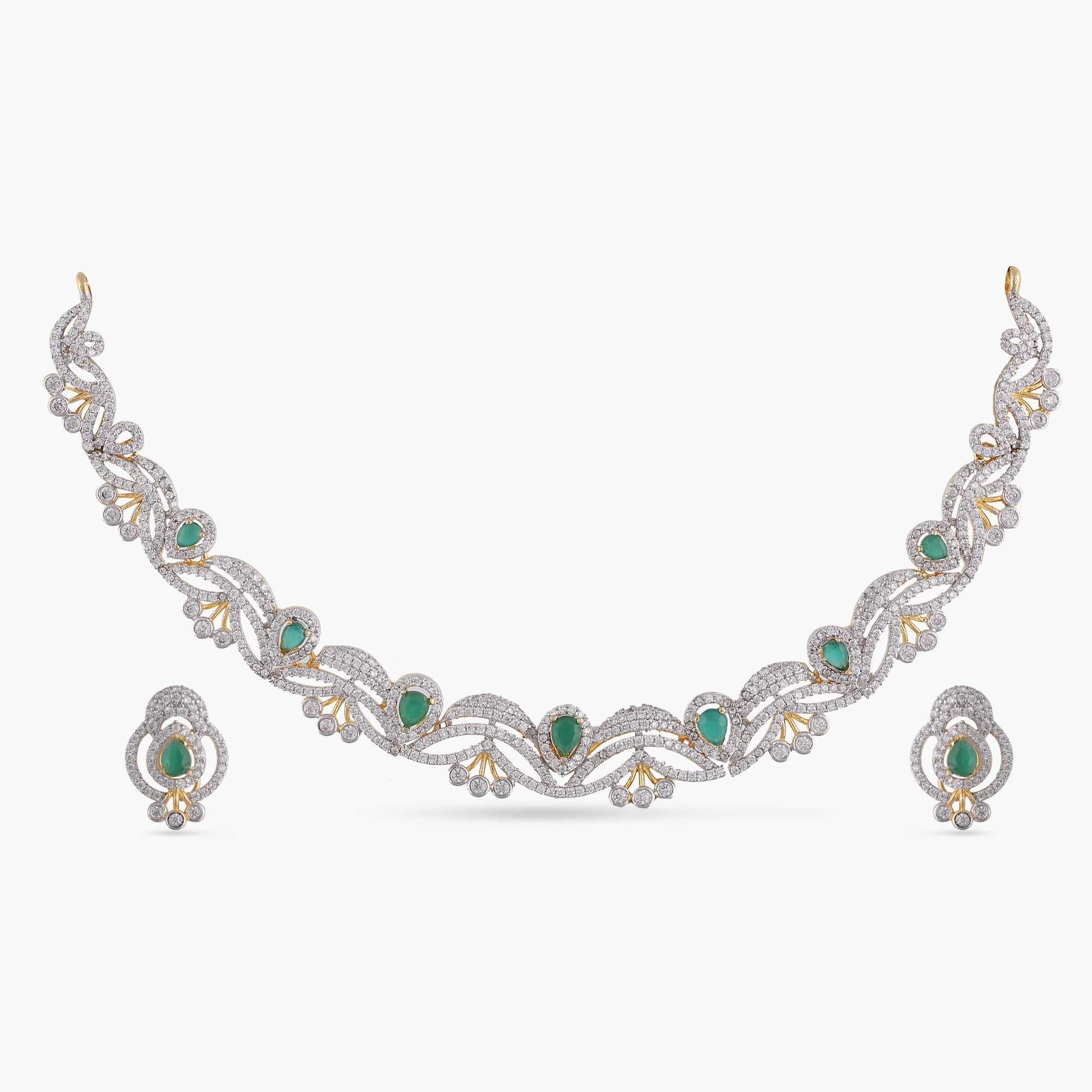 Shiera Nakshatra CZ Necklace Set