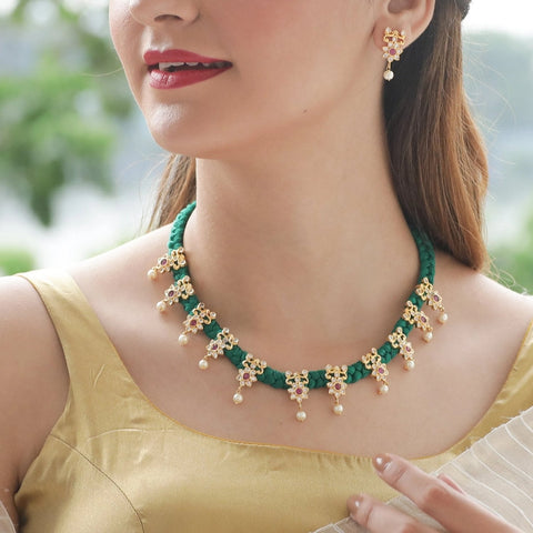 Svara Necklace Set