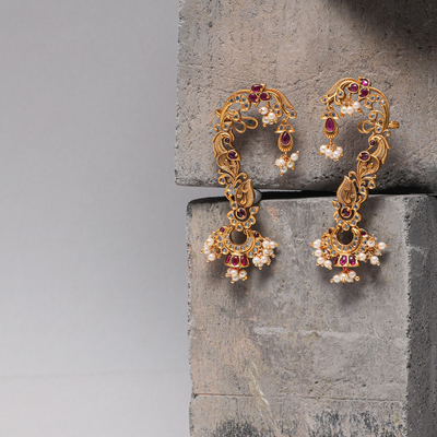 Watika Nakshatra CZ Earrings