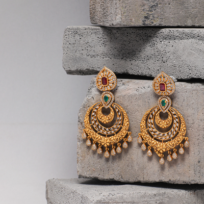 Omisha Nakshatra CZ Earrings