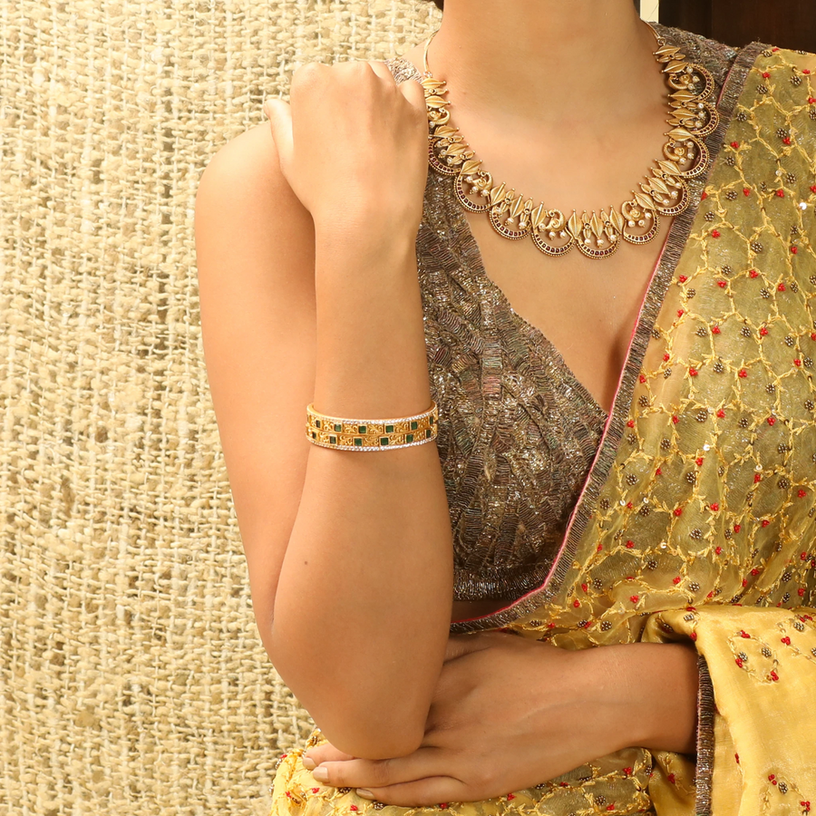 Aavani Antique Bangles by Tarinika
