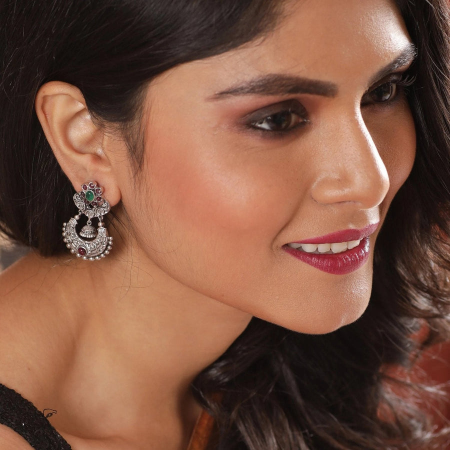 Ura Nakshatra CZ Earrings by Tarinika