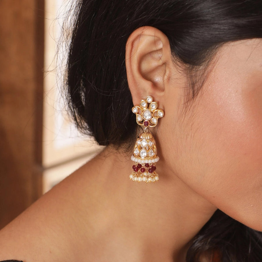 Aakriti Jhumka Earrings by Tarinika