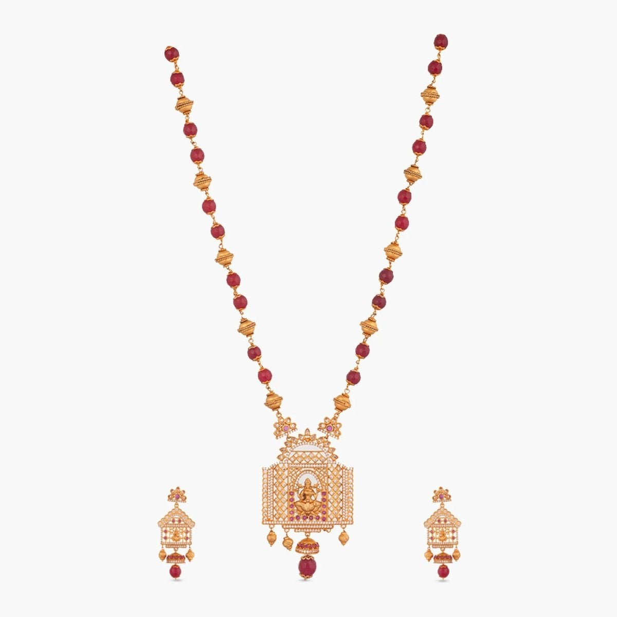 Padma Antique Long Necklace Set