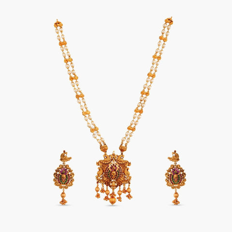Baghban Long Necklace Set