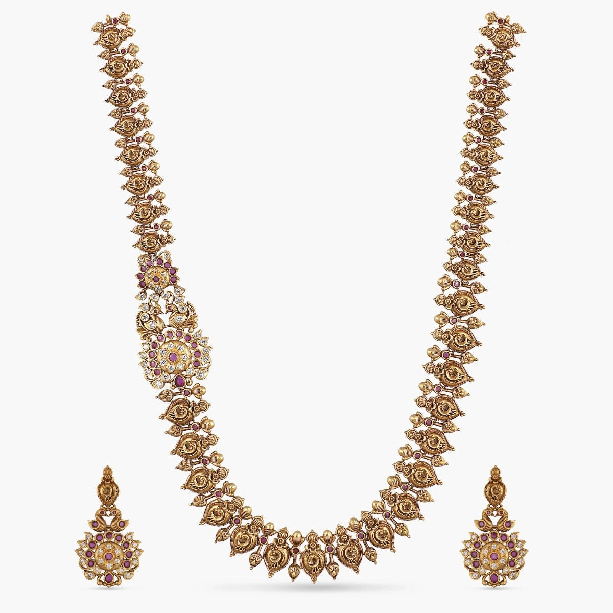 Yahvi Antique Long Necklace Set