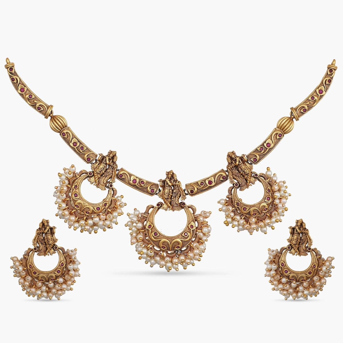 Januja Antique Necklace Set