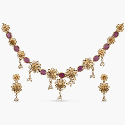 Nidra Antique Necklace Set