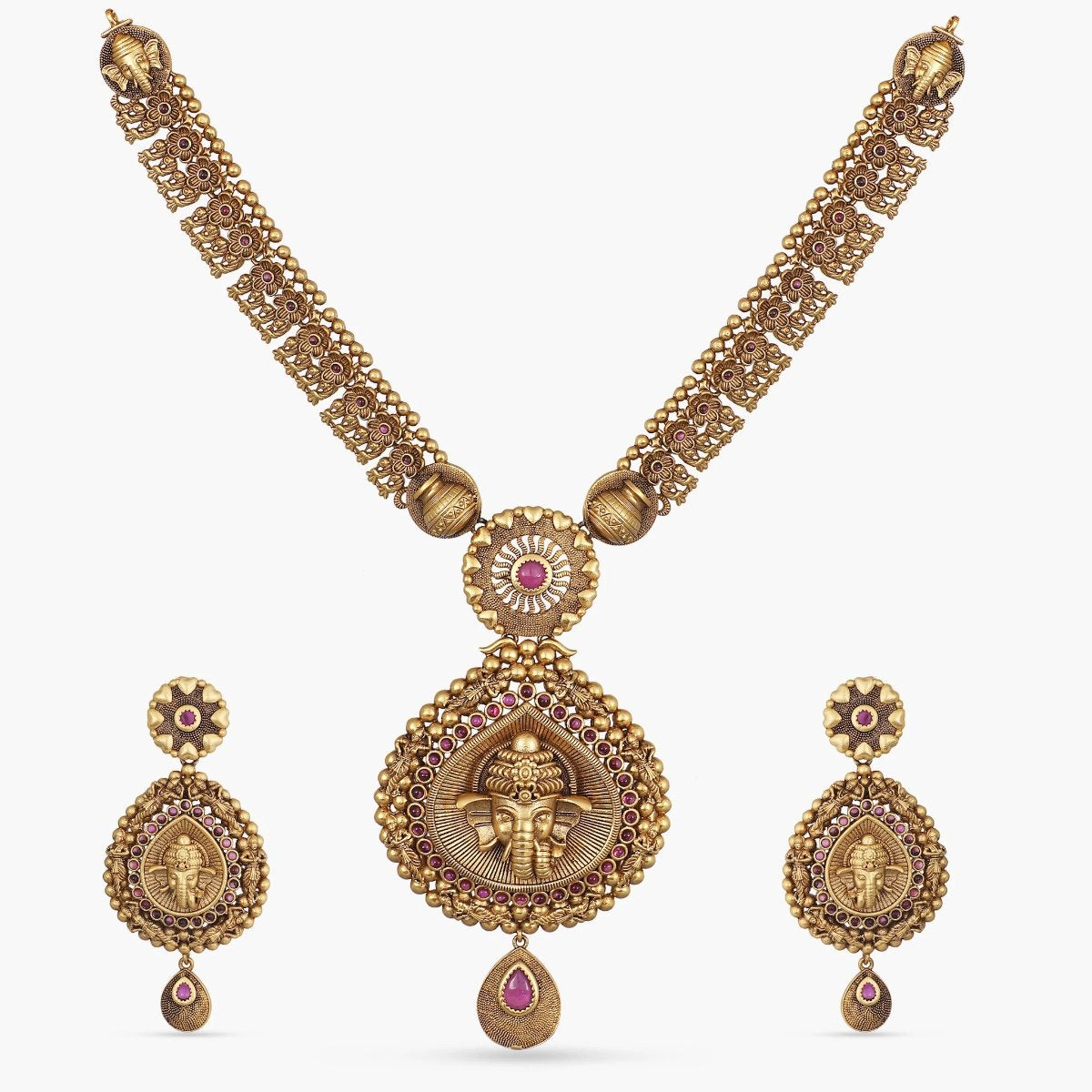Abiya Antique Necklace Set