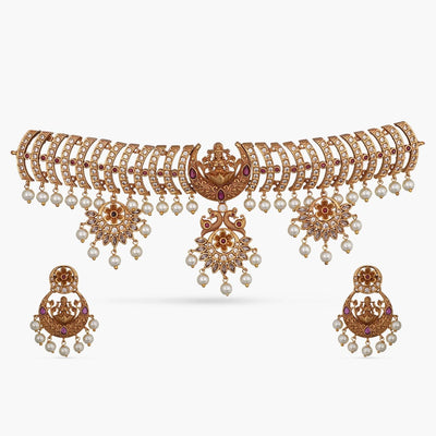 Dayita Antique Choker Set