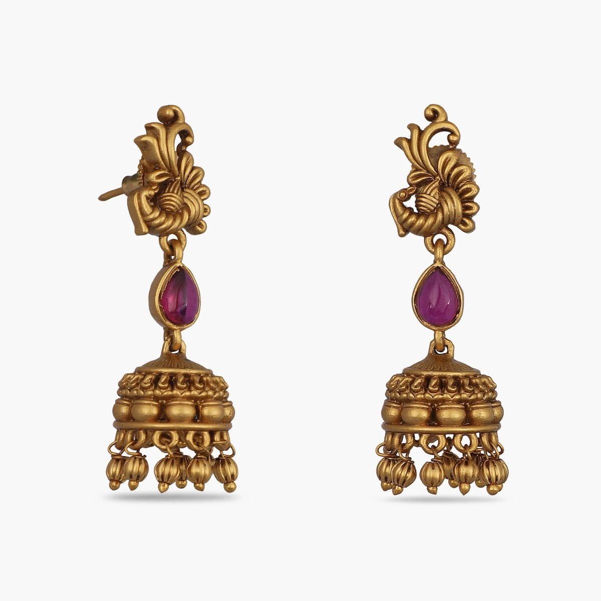 Mukta Antique Jhumka Earrrings