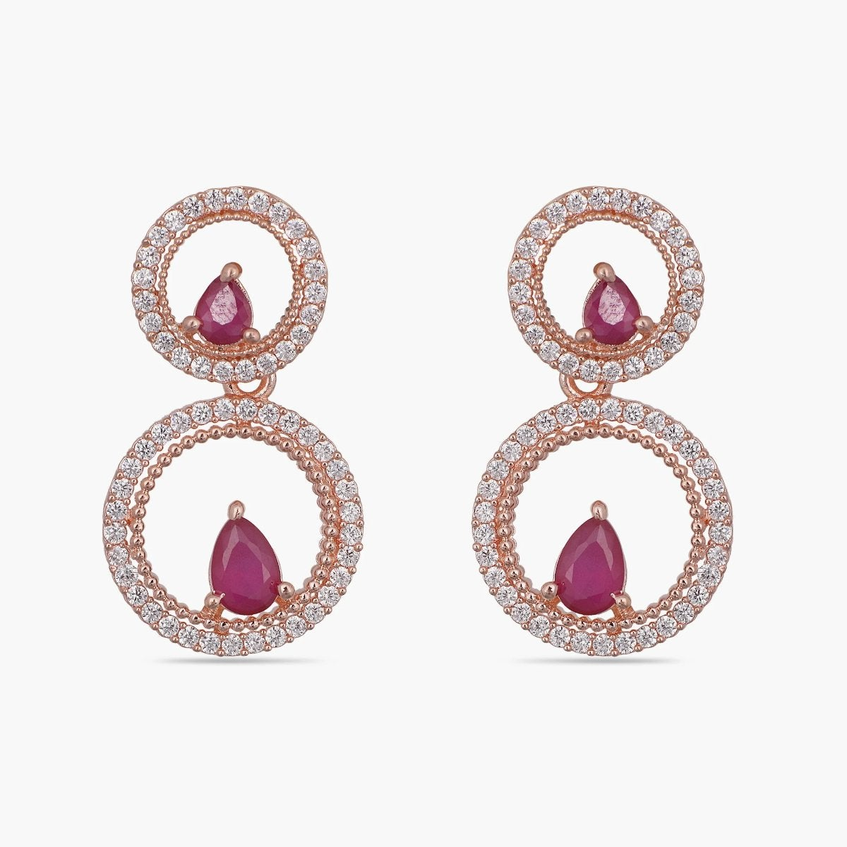 Ami Nakshatra CZ Earrings