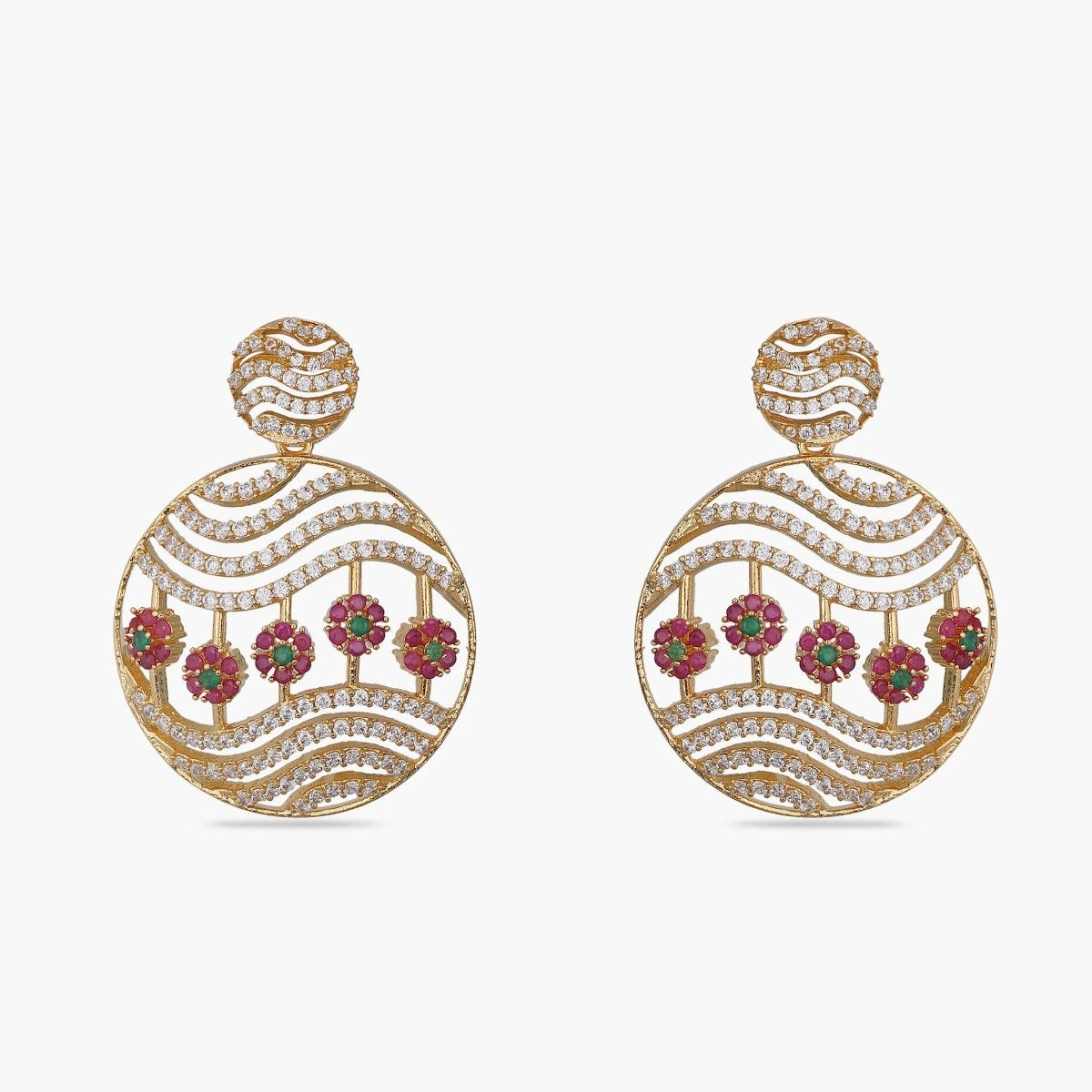 Amiya Nakshatra CZ Earrings