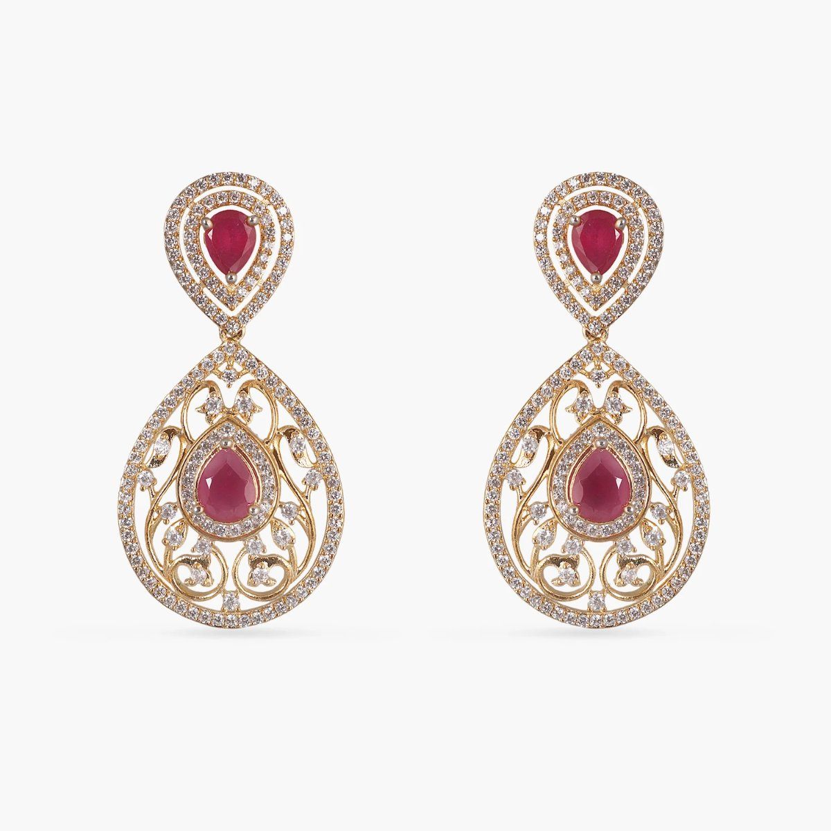 Giva Nakshatra CZ Long Necklace Set