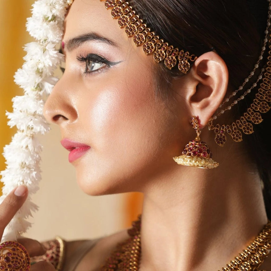 Gitika Jhumka Earrings