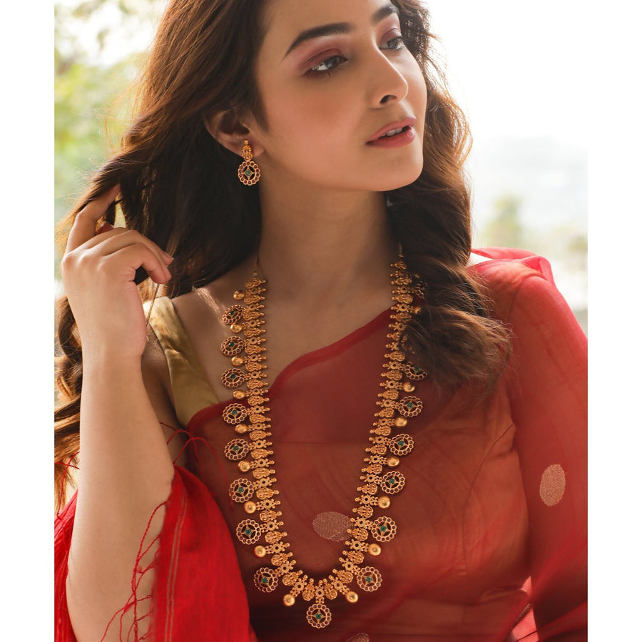 Bhini Long Necklace Set