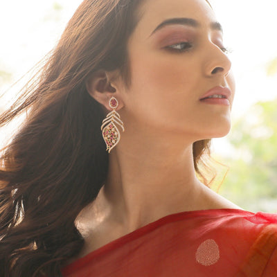 Tvisha Nakshatra CZ Earrings