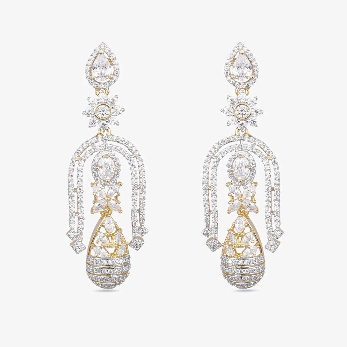 Asmi Nakshatra CZ Earrings