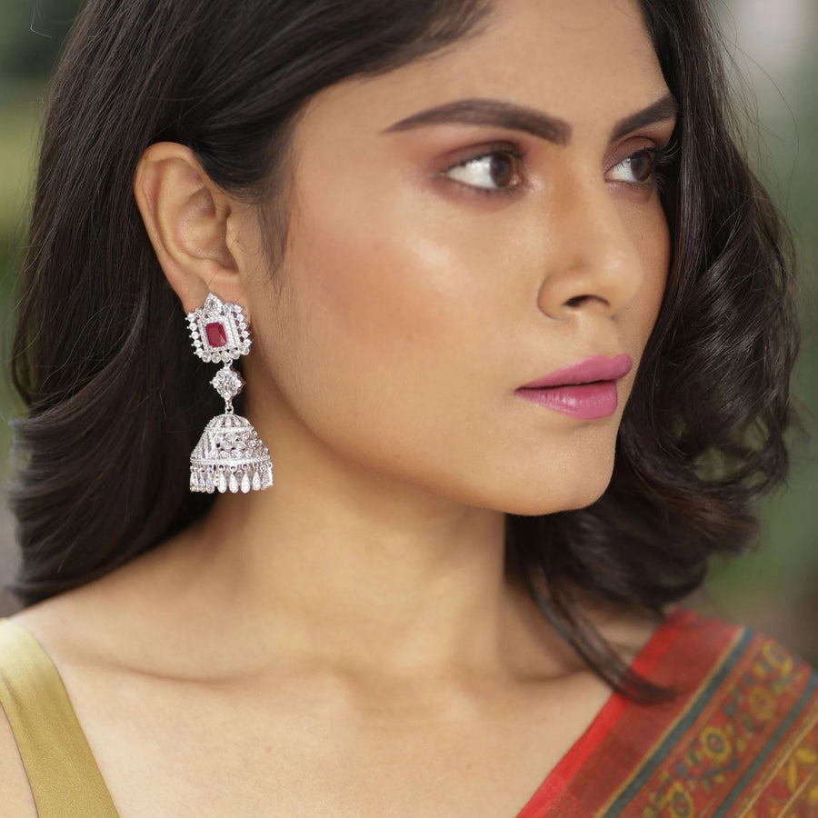 Aalia Jhumka Earrings by Tarinika
