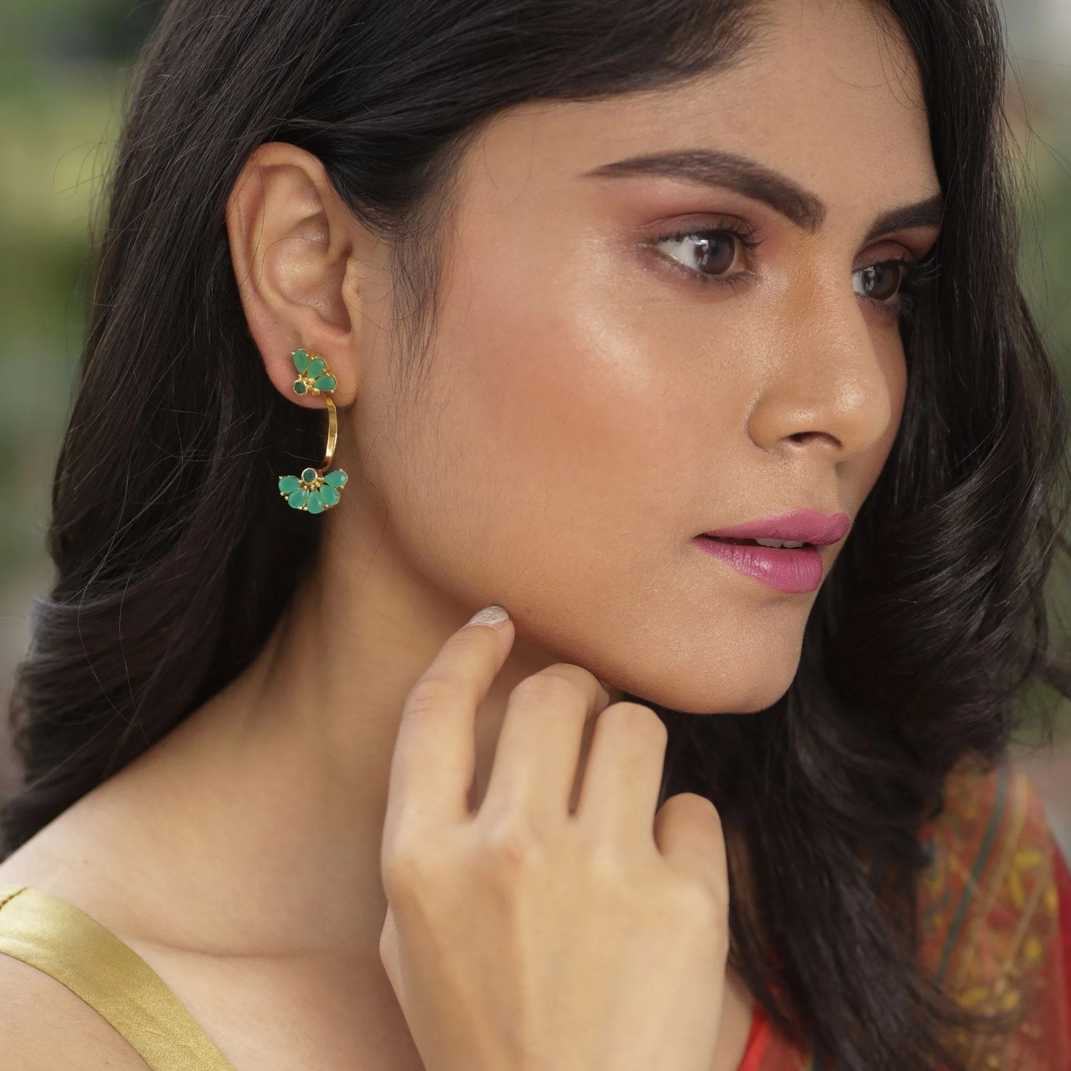 Abani Nakshatra CZ Earrings