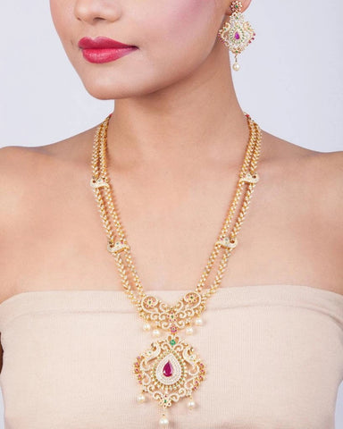 Swapn Long Necklace Set