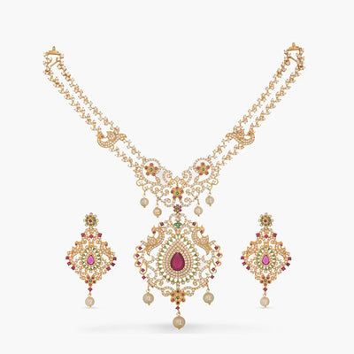 Utkarsh Nakshatra CZ Necklace Set