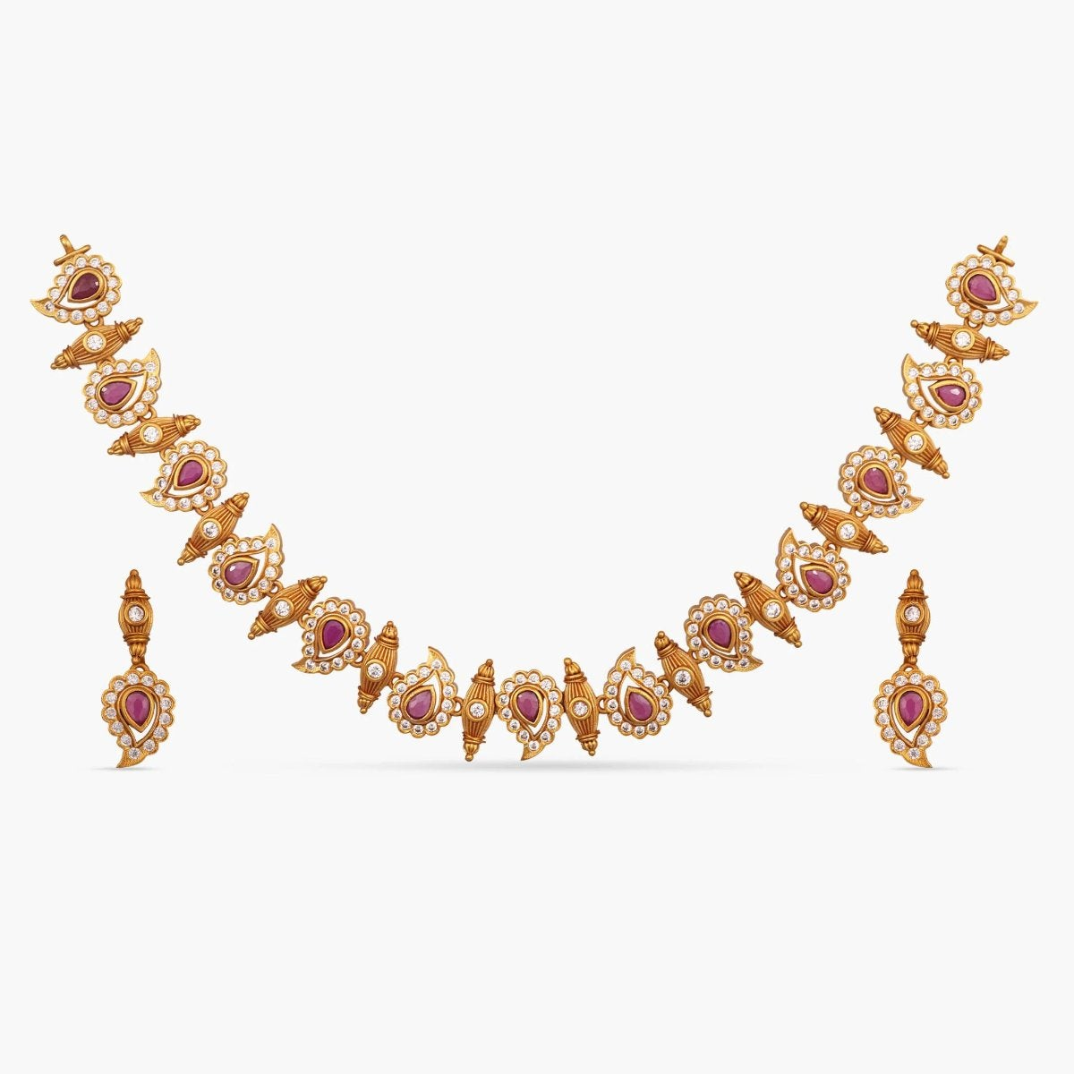 Niranjana Antique Necklace Set